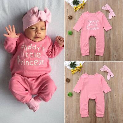 Bébé Nouveau-né Bébé Fille Ange Combinaison Body Vêtements Bandeau ensembles