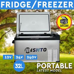 22L 12//24V Portable Fridge Freezer Camping Car Boating Caravan Bar Mini Fridges