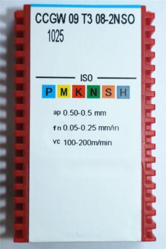 High quality 2p NEW CBN CCGW09T308-2NSO 1025 Superhard diamond  CNC blade insert