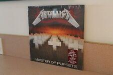 "Metallica Master of Puppets NEW & SEALED 12"" vinyl LP Blackened Recordings"