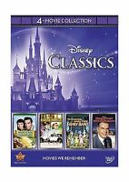 Disney 4-movie Collection: Classics (gnome-mobile / Darby O'gil... Free Shipping