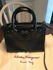 aebee3c291 item 1 SALVATORE FERRAGAMO SMALL BEKY GANCIO TOTE SHOULDER BAG CROSSBODY  BLACK EUC -SALVATORE FERRAGAMO SMALL BEKY GANCIO TOTE SHOULDER BAG CROSSBODY  BLACK ...