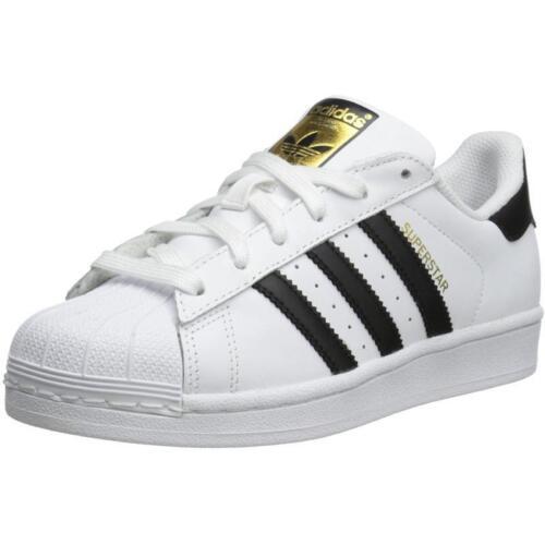 en negro deporte Zapatillas Adidas Eu Originals 5 Boys de C77154 Older y blanco Uk 38 Superstar q8qwZP