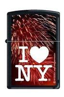 Zippo 1664 I Love York Black Matte Lighter