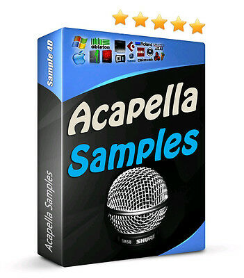 11GB Voice Vocal Vox Acappella Samples Electro House Dubstep Trance Choir FX MPC