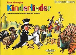 Klavier-Noten-Meine-allerersten-Kinderlieder-Anfaenger-sehr-leicht-VHR-3543