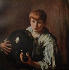 L'Enfant A La Bonbon by Pilade Bertieri. The Studio, 1917.