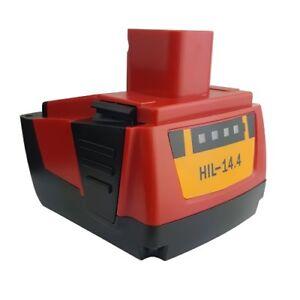 BATTERIE 3000mAh 14.4V pour Hilti SFH 144-A SFH 144-A CPC 14.4V
