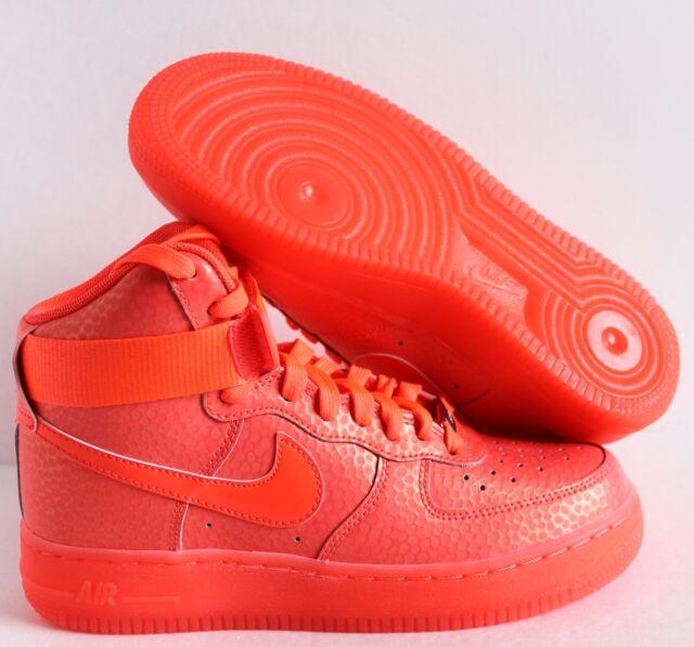 5369c74517db Nike WMNS Air Force 1 Hi High Premium Hot Lava Pink Sz 7.5 654440 ...