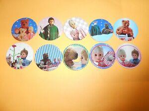 330 Pogs Pog Caps Milkcaps Flippo : Lot De 10 Bonne Nuit Les Petits 1995 Merlin Convient Aux Hommes, Femmes Et Enfants