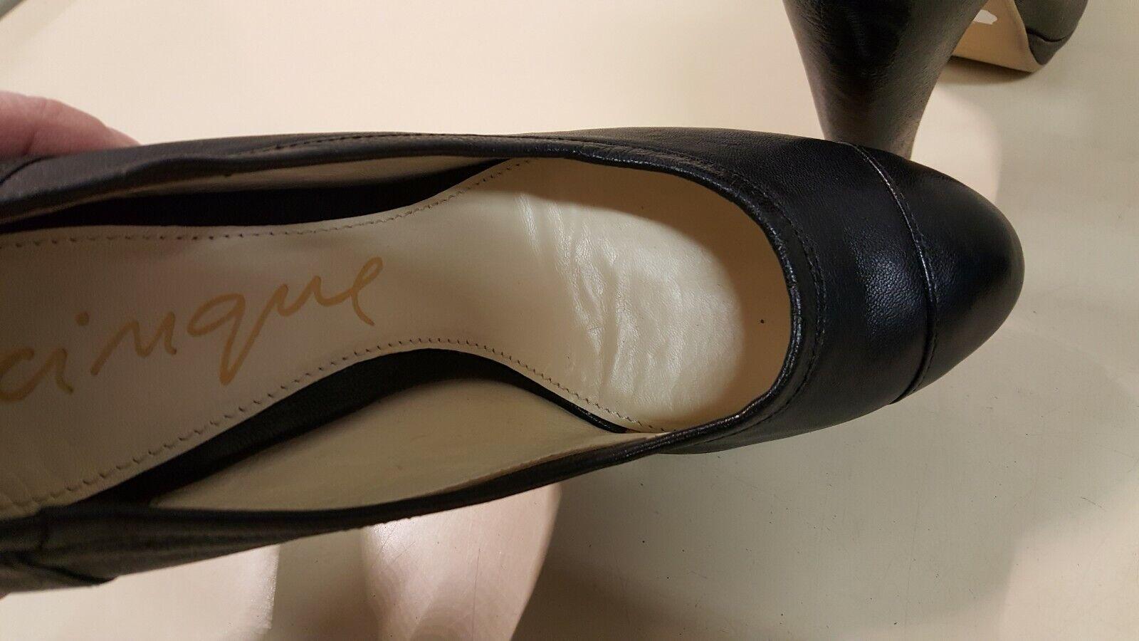 Ё841)Luxus Ё841)Luxus Ё841)Luxus Marken CINQUE sexy Schuhe Pumps Leder Gr.37 NEU cae27b