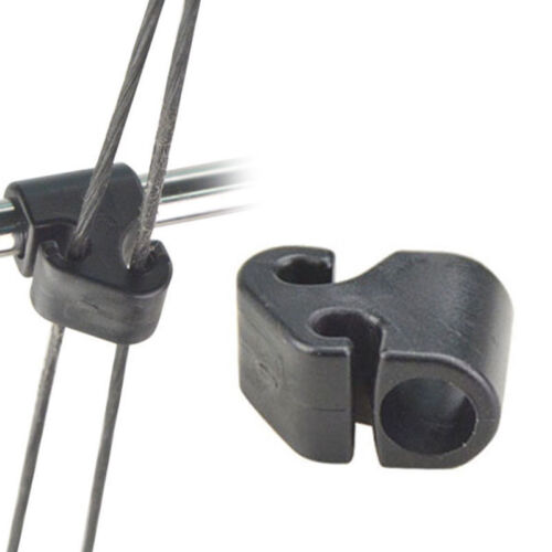 Archery Compound Bow Cable Slide String Plastic Splitter Roller Glide Heavy Duty