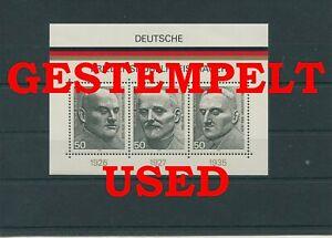 Germany-Federal-Frg-vintage-yearset-1975-Block-11-Postmarked-Used-More-Sh-Shop