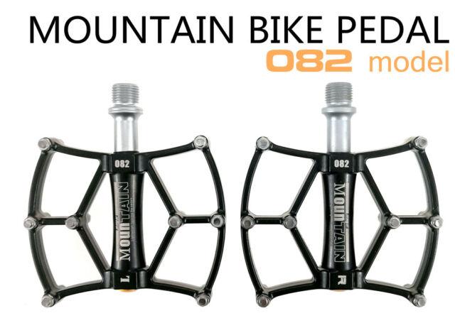 SMS MTB Mountain Road Bike Bearing Pedals Aluminum flat Platform Bicycle Pedal