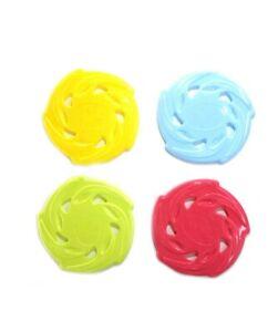Frisbee Hunde Freisbee Disc Wurfscheibe Ø 24 blau grün gelb rosa