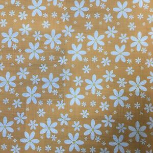 Sold Per Metre cut off the Roll Small Dainty Pretty FLORAL PolyCotton fabric