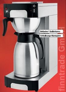 filterkaffeemaschine kaffeemaschine edelstahl isolierkanne. Black Bedroom Furniture Sets. Home Design Ideas