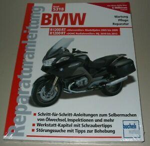 Reparaturanleitung-BMW-R-1200-RT-2005-2009-R-1200-RT-DOHC-2010-2013-Buch-Neu