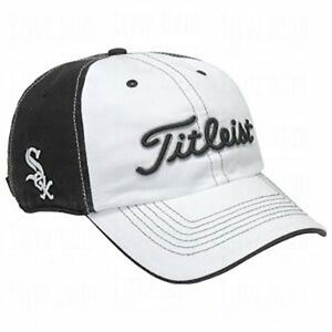 fd7cfddf706 Titleist Chicago White Sox Golf Hat Cap MLB 2 Panel White Front ...