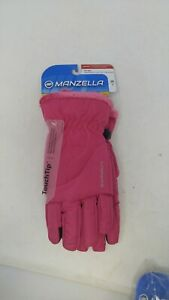 Manzella-Women-039-s-Morgan-Gloves-Pink-Size-Small