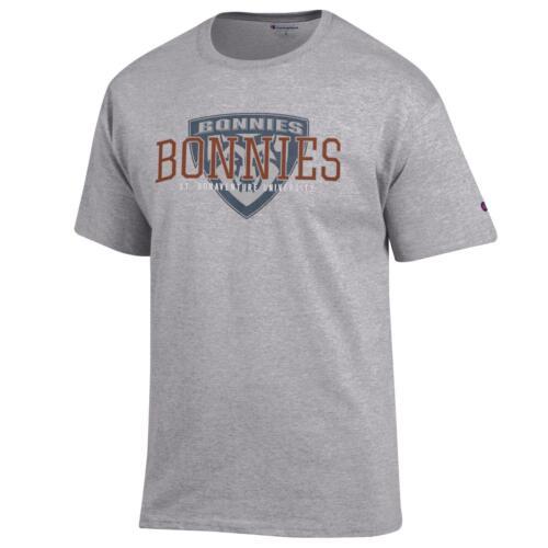 St Bonaventure Bonnies T shirt NCAA Grey
