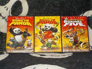 Kung Fu Panda 1 2 Secrets Of The Furious Five Dvd Jack Black Free Shipping Ebay