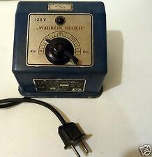 @ RARE TRANSFORMATEUR  MARKLIN SUPER 125 V ( 110 volts) POUR COURANT ALTERNATIF