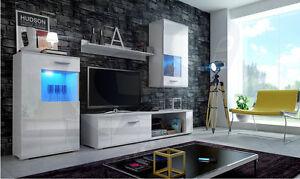 Living-room-furniture-set-TV-unit-cabinet-glass-display-shelf-high-gloss-LED