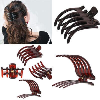 1PC Large Alligator Hair Clip Crystal Rhinestone Hair Claw Clamp Hairpin Women