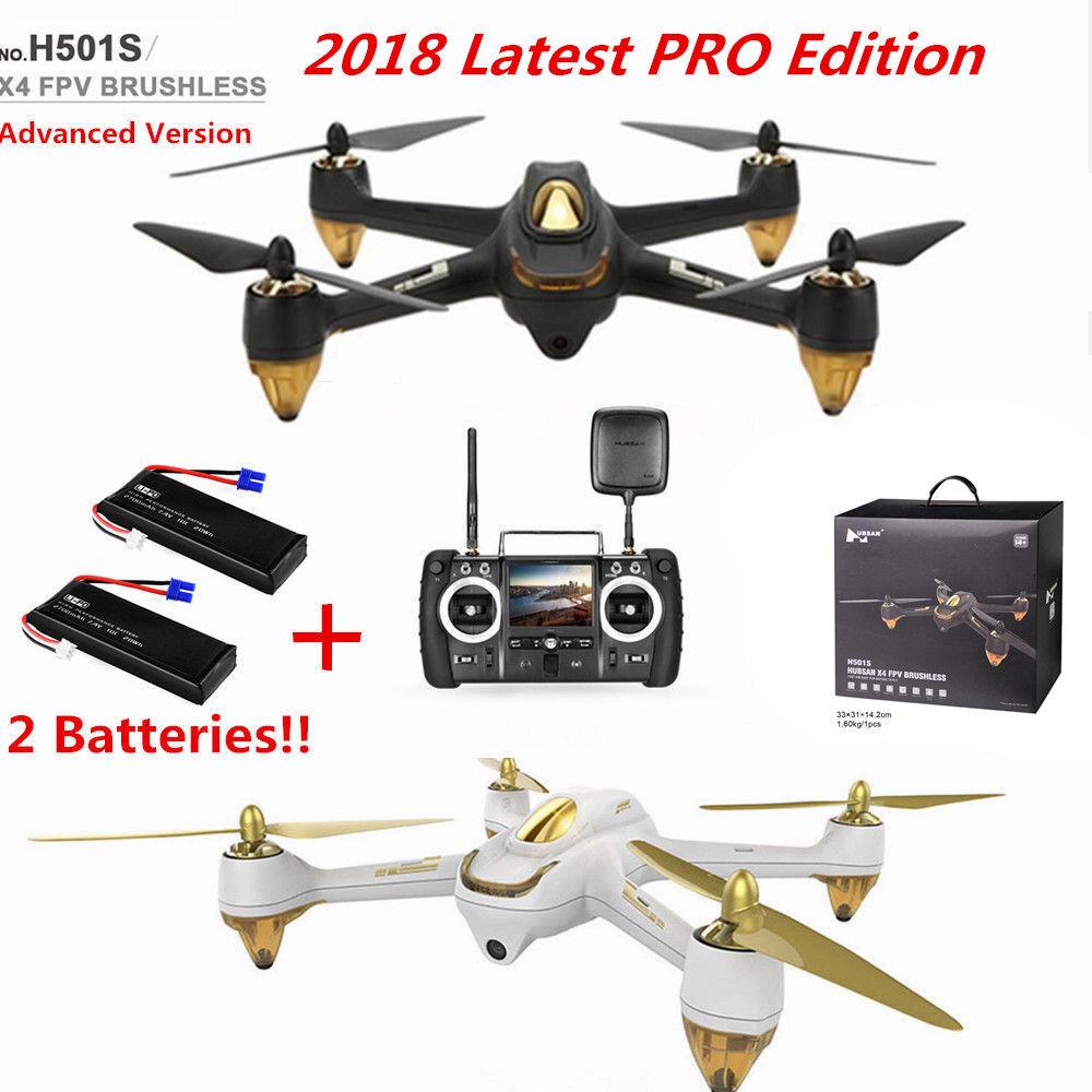 Hubsan H501S X4 FPV Quadcopter Brushless 1080P Camera Follow Me GPS, Pro Version