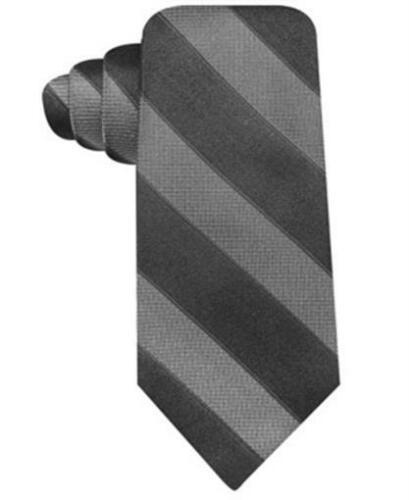 Ryan Seacrest Distinction Attraction Bar Stripe Slim Tie Black Mens New