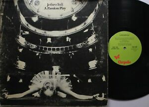 Rock Lp Jethro Tull A Passion Play On Chrysalis