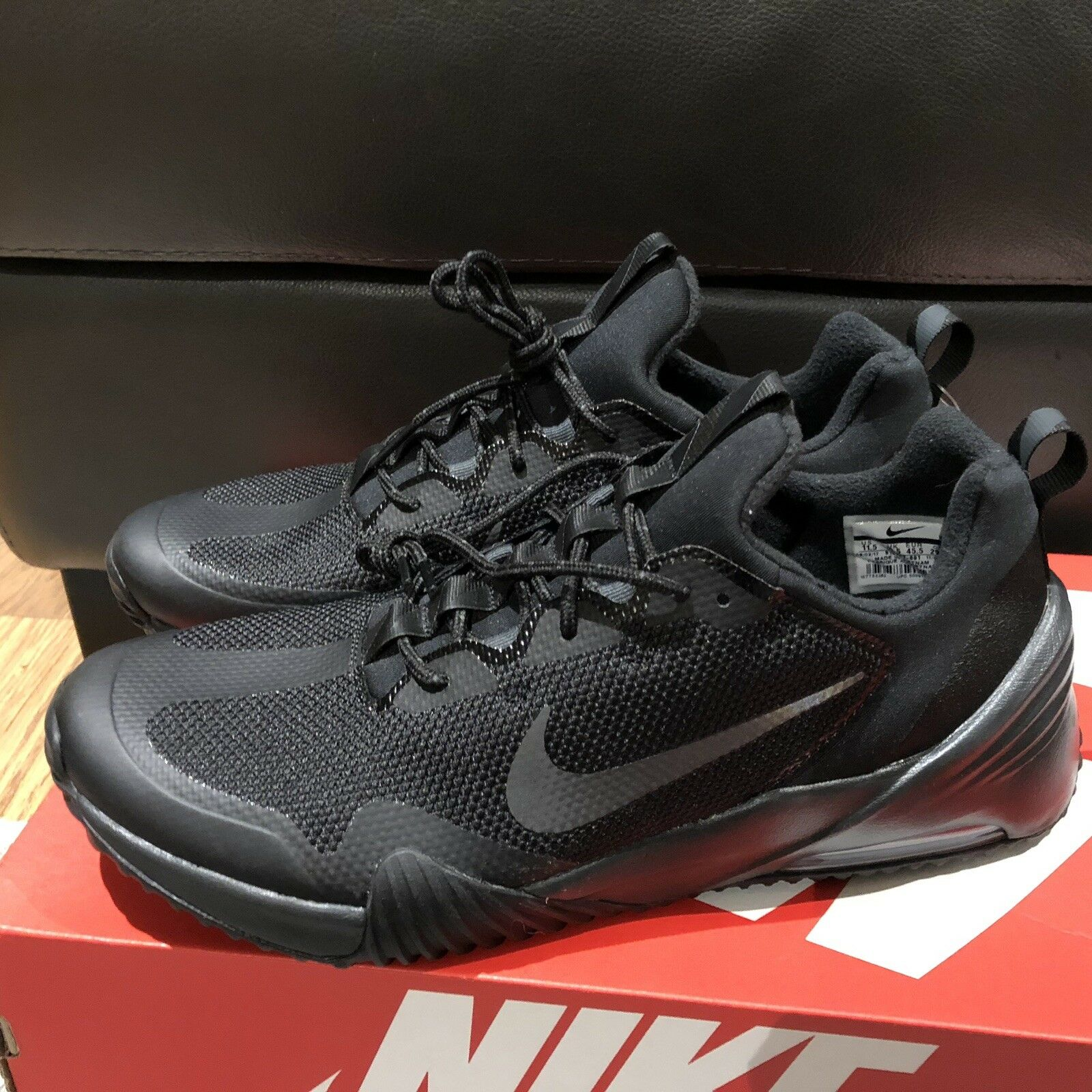 Nike Mens Air Max Grigora Running shoes Sneaker Black Size 11.5 New 916767-001