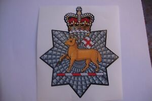 THE-QUEENS-ROYAL-SURREY-STICKERS-X-2-BRITISH-ARMED-FORCES-MILITARY-5-034-approx