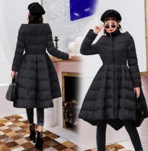 Jakke Puffer Parka A Fit Tutu Kjole Kvinders G536 Outwear Line Kjole Thicken Slim zqTXxYwg