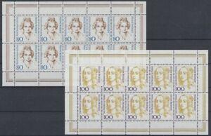 Deutschland-BRD-MiNr-1755-1756-10er-Boegen-postfrisch-MNH-692706