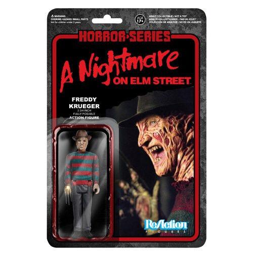 Horror Classics Freddy Kreuger (Nightmare on Elm Street) Funko ReAction Figure