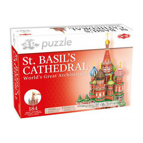 St. Basil's Cathedral - 3D Tactic Games -  Puzzles - 55481