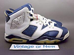 finest selection e1c2e 09997 Image is loading Nike-Air-Jordan-VI-6-Olympic-Retro-GS-