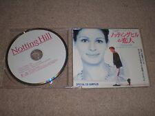 Notting Hill SPECIAL CD Advance SAMPLER JAPAN IMPORT Shania Twain Elvis Costello