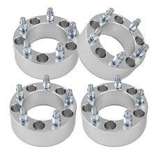 """(4) 2"""" inch Jeep Wheel Spacers Adapters 5x5.5 Fits CJ 3 CJ5 CJ 7  50mm"""