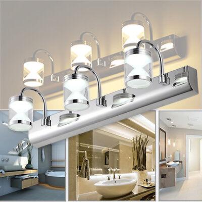 Modern Bathroom Vanity LED Light Front Makeup Mirror ...
