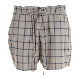 Kings Of indigo Short Beige Carreaux Coton Mélange Taille 31/W 40 Soi 349a