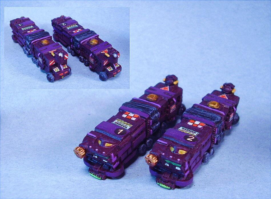 slåsstech målad Indra Infanterietransport (2) Unikt system