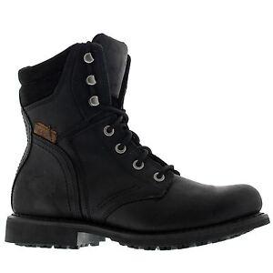 Black Harley Davidson Mens Leather Boots Darnel