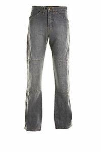 Draggin-Jeans-Silverbacks-Grey-Denim-Motorcycle-Trousers-New-RRP-169-99
