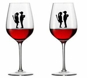9-x-Banksy-Boy-Meets-Girl-Vinyl-Decal-Wine-Glass-stickers
