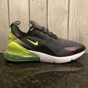 Nike-Air-Max-270-SE-Men-039-s-Shoe-AQ9164-005-Sneaker-Black-Volt-Multiple-Sizes