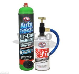 Auto Ac Stop Leak >> Details About Air Conditioning Mrl 3 Super Seal A C Stop Leak Refill Regas R 134a Gas Air Con