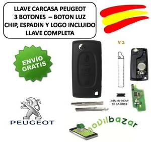 KEY-HOUSING-PEUGEOT-107-308-307-407-V2-HU83-FLAT-TRUNK-CHIP-ID46-433MHZ